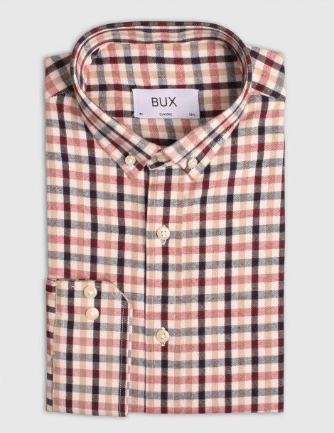 Copper-Tan-Flannel-Check-Shirt-2