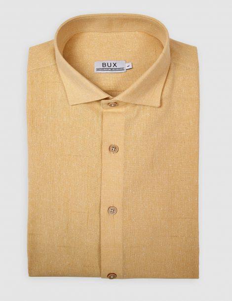 yellow-linen-cutaway-shirt